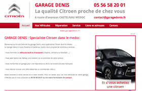 GARAGE  CITROEN ##Castelnau Médoc ##Garage denis